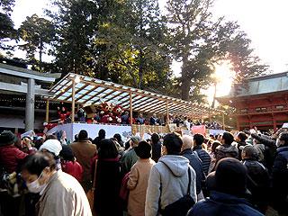 鹿島神宮節分祭2017